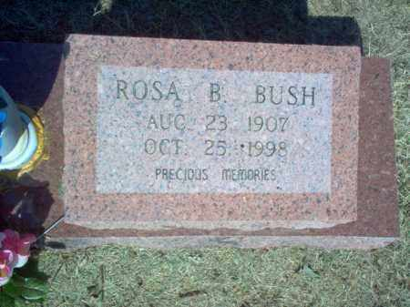 BUSH, ROSA B - Cross County, Arkansas | ROSA B BUSH - Arkansas Gravestone Photos