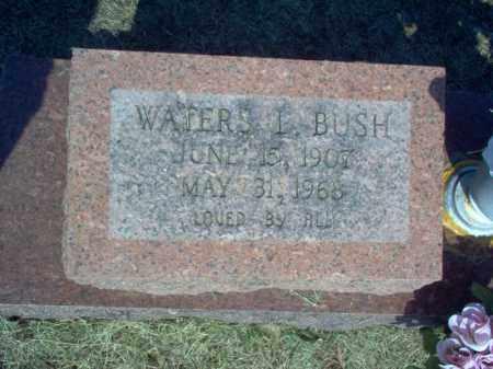 BUSH, WATERS L - Cross County, Arkansas | WATERS L BUSH - Arkansas Gravestone Photos