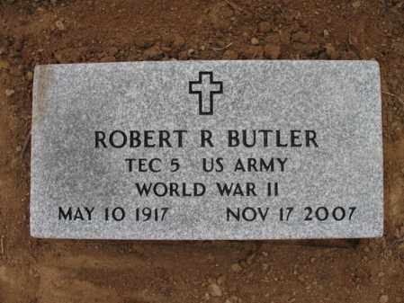 BUTLER (VETERAN WWII), ROBERT R - Cross County, Arkansas | ROBERT R BUTLER (VETERAN WWII) - Arkansas Gravestone Photos