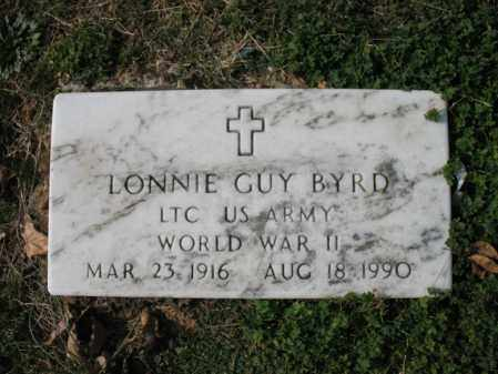 BYRD (VETERAN WWII), LONNIE GUY - Cross County, Arkansas | LONNIE GUY BYRD (VETERAN WWII) - Arkansas Gravestone Photos