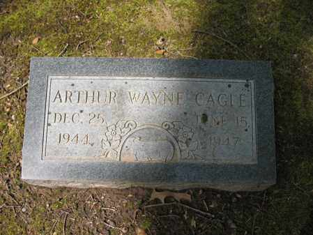 CAGLE, ARTHUR WAYNE - Cross County, Arkansas | ARTHUR WAYNE CAGLE - Arkansas Gravestone Photos