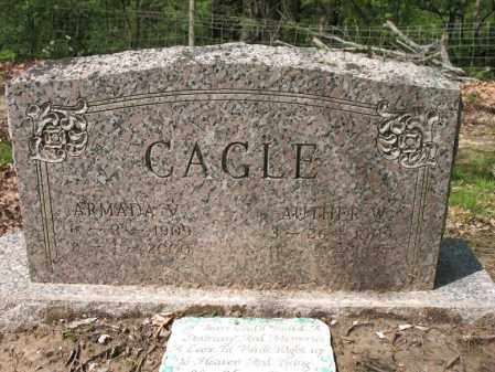 CAGLE, AUTHER W - Cross County, Arkansas | AUTHER W CAGLE - Arkansas Gravestone Photos