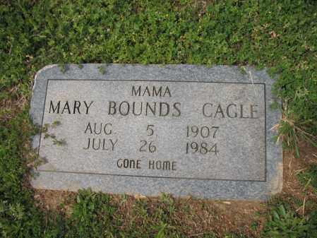 BOUNDS CAGLE, MARY - Cross County, Arkansas | MARY BOUNDS CAGLE - Arkansas Gravestone Photos