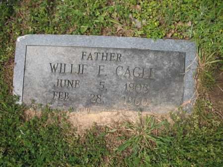 """CAGLE, WILLIAM E """"WILLIE"""" - Cross County, Arkansas   WILLIAM E """"WILLIE"""" CAGLE - Arkansas Gravestone Photos"""