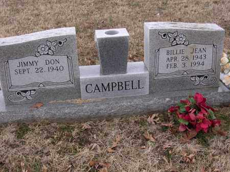 CAMPBELL, BILLIE JEAN - Cross County, Arkansas | BILLIE JEAN CAMPBELL - Arkansas Gravestone Photos