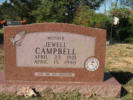CAMPBELL, JEWELL - Cross County, Arkansas | JEWELL CAMPBELL - Arkansas Gravestone Photos