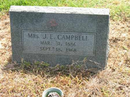 CAMPBELL, MRS., J E - Cross County, Arkansas | J E CAMPBELL, MRS. - Arkansas Gravestone Photos