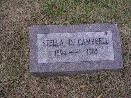 CAMPBELL, STELLA D - Cross County, Arkansas | STELLA D CAMPBELL - Arkansas Gravestone Photos