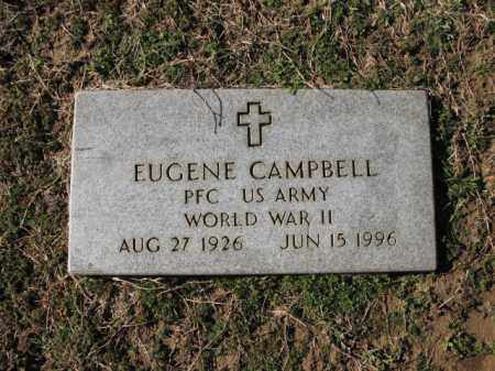 CAMPBELL (VETERAN WWII), EUGENE - Cross County, Arkansas | EUGENE CAMPBELL (VETERAN WWII) - Arkansas Gravestone Photos