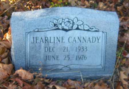 CANNADY, JEARLINE - Cross County, Arkansas | JEARLINE CANNADY - Arkansas Gravestone Photos
