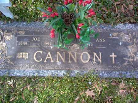 "CANNON, JOSEPH S ""JOE"" - Cross County, Arkansas 