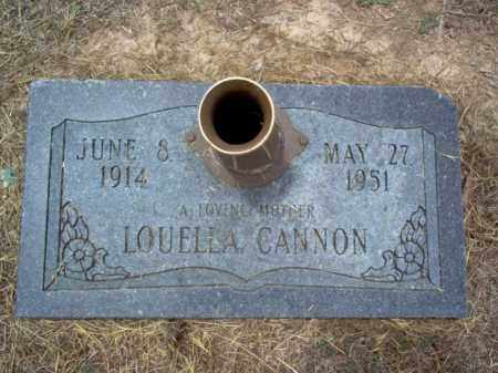 CANNON, LOUELLA - Cross County, Arkansas | LOUELLA CANNON - Arkansas Gravestone Photos