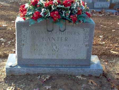 CANTER, BARBARA - Cross County, Arkansas | BARBARA CANTER - Arkansas Gravestone Photos