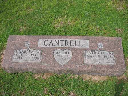 CANTRELL, CHARLES W - Cross County, Arkansas | CHARLES W CANTRELL - Arkansas Gravestone Photos
