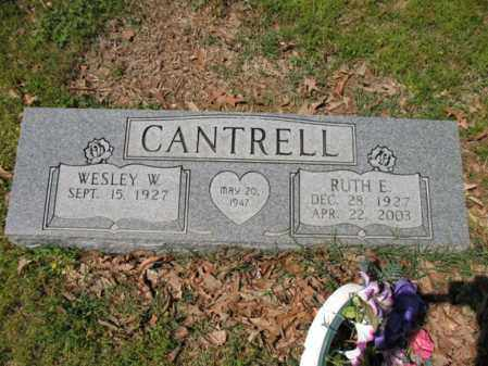 CANTRELL, RUTH E - Cross County, Arkansas | RUTH E CANTRELL - Arkansas Gravestone Photos