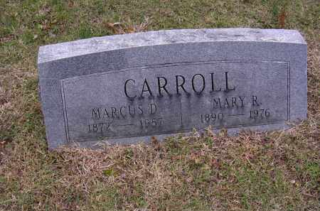 CARROLL, MARY R - Cross County, Arkansas | MARY R CARROLL - Arkansas Gravestone Photos