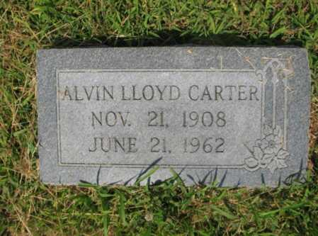 CARTER, ALVIN LLOYD - Cross County, Arkansas | ALVIN LLOYD CARTER - Arkansas Gravestone Photos