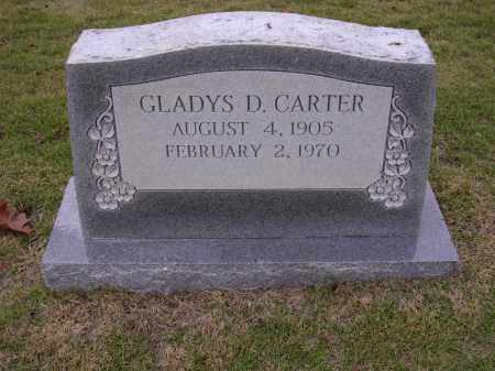 CARTER, GLADYS D - Cross County, Arkansas | GLADYS D CARTER - Arkansas Gravestone Photos