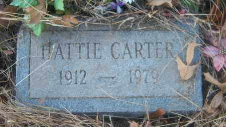 CARTER, HATTIE - Cross County, Arkansas | HATTIE CARTER - Arkansas Gravestone Photos
