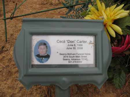 "CARTER, JR., CECIL ""DON"" - Cross County, Arkansas 