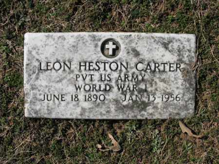 CARTER (VETERAN WWI), LEON HESTER - Cross County, Arkansas | LEON HESTER CARTER (VETERAN WWI) - Arkansas Gravestone Photos