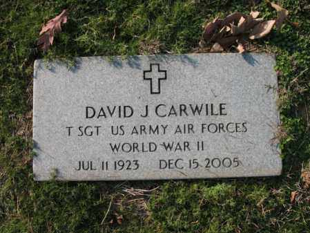 CARWILE (VETERAN WWII), DAVID JOSEPH - Cross County, Arkansas | DAVID JOSEPH CARWILE (VETERAN WWII) - Arkansas Gravestone Photos