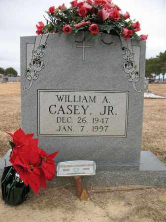 CASEY, JR., WILLIAM A - Cross County, Arkansas | WILLIAM A CASEY, JR. - Arkansas Gravestone Photos