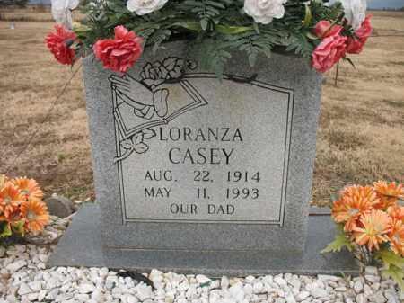 CASEY, LORANZA - Cross County, Arkansas | LORANZA CASEY - Arkansas Gravestone Photos