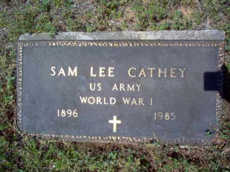 CATHEY  (VETERAN WWI), SAM LEE - Cross County, Arkansas | SAM LEE CATHEY  (VETERAN WWI) - Arkansas Gravestone Photos