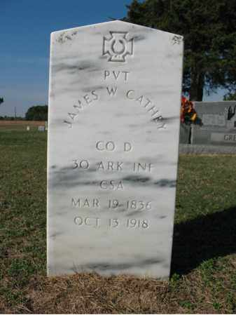 CATHEY (VETERAN CSA), JAMES W - Cross County, Arkansas | JAMES W CATHEY (VETERAN CSA) - Arkansas Gravestone Photos