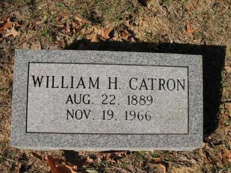 CATRON, WILLIAM H - Cross County, Arkansas | WILLIAM H CATRON - Arkansas Gravestone Photos