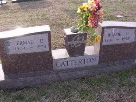 CATTERTON, ROBBIE G - Cross County, Arkansas | ROBBIE G CATTERTON - Arkansas Gravestone Photos