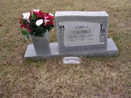 CAUBBLE, LOMA LUCILLE - Cross County, Arkansas | LOMA LUCILLE CAUBBLE - Arkansas Gravestone Photos