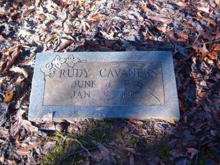 CAVANESS, RUDY - Cross County, Arkansas | RUDY CAVANESS - Arkansas Gravestone Photos