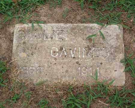 CAVINESS, SALLIE - Cross County, Arkansas | SALLIE CAVINESS - Arkansas Gravestone Photos