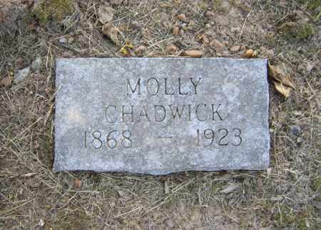 CHADWICK, MOLLY - Cross County, Arkansas | MOLLY CHADWICK - Arkansas Gravestone Photos