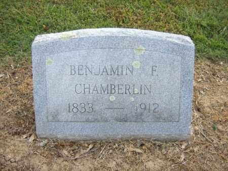 CHAMBERLIN, BENJAMIN F - Cross County, Arkansas | BENJAMIN F CHAMBERLIN - Arkansas Gravestone Photos