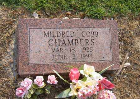 COBB CHAMBERS, MILDRED - Cross County, Arkansas | MILDRED COBB CHAMBERS - Arkansas Gravestone Photos