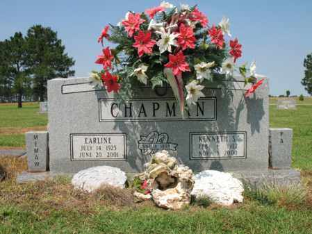 CHAPMAN, EARLINE - Cross County, Arkansas | EARLINE CHAPMAN - Arkansas Gravestone Photos
