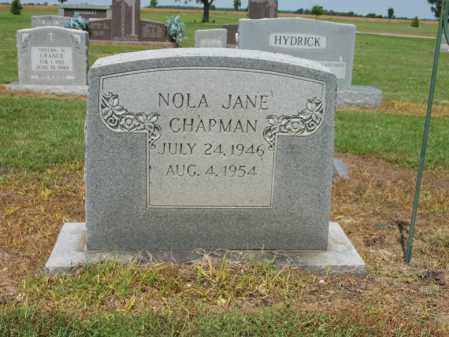 CHAPMAN, NOLA JANE - Cross County, Arkansas | NOLA JANE CHAPMAN - Arkansas Gravestone Photos