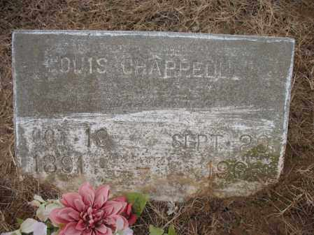 CHAPPELL, LOUIS - Cross County, Arkansas | LOUIS CHAPPELL - Arkansas Gravestone Photos