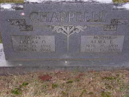 CHAPPELLE, OSCAR O - Cross County, Arkansas | OSCAR O CHAPPELLE - Arkansas Gravestone Photos