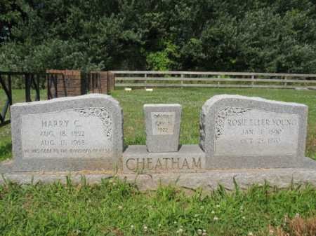 CHEATHAM, HARRY C - Cross County, Arkansas | HARRY C CHEATHAM - Arkansas Gravestone Photos