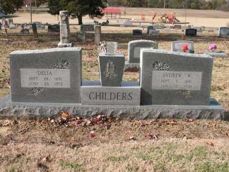 NELSON CHILDERS, DELIA - Cross County, Arkansas | DELIA NELSON CHILDERS - Arkansas Gravestone Photos