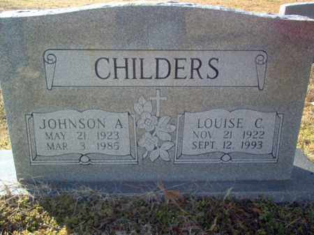 JONES CHILDERS, LOUISE C - Cross County, Arkansas | LOUISE C JONES CHILDERS - Arkansas Gravestone Photos