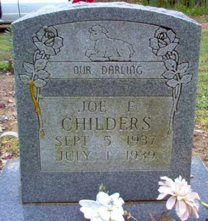 CHILDERS, JOE EDWARD - Cross County, Arkansas | JOE EDWARD CHILDERS - Arkansas Gravestone Photos
