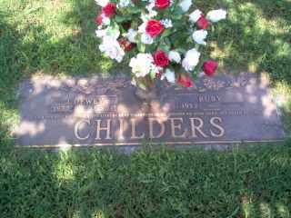 CHILDERS, JAMES DEWEY - Cross County, Arkansas   JAMES DEWEY CHILDERS - Arkansas Gravestone Photos