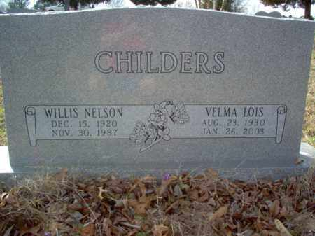 CHILDERS, WILLIS NELSON - Cross County, Arkansas | WILLIS NELSON CHILDERS - Arkansas Gravestone Photos