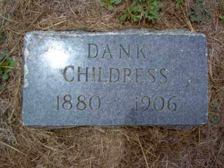 CHILDRESS, DANK - Cross County, Arkansas | DANK CHILDRESS - Arkansas Gravestone Photos