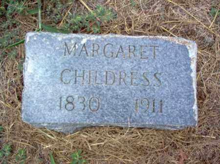 CHILDRESS, MARGARET - Cross County, Arkansas | MARGARET CHILDRESS - Arkansas Gravestone Photos